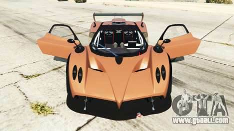 GTA 5 Pagani Zonda R v0.9 right side view