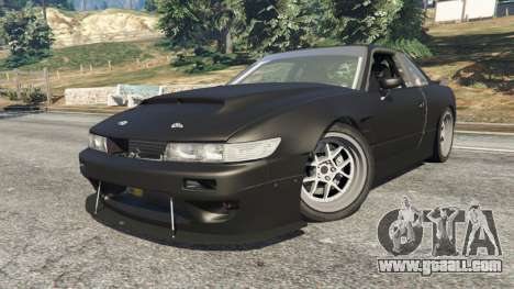 GTA 5 Nissan Silvia S13 v1.2 [without livery] right side view