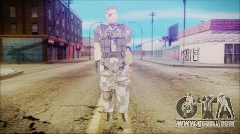 MGSV Phantom Pain Snake Normal Square for GTA San Andreas second screenshot