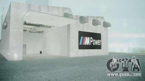 BMW Showroom for GTA San Andreas forth screenshot