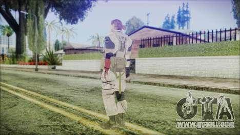 MGSV Phantom Pain Snake Normal Desert for GTA San Andreas third screenshot