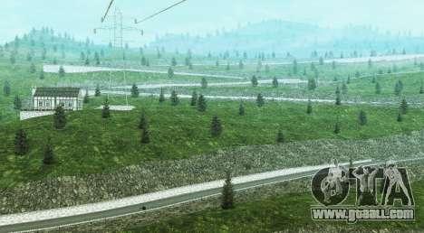 Stelvio Pass Drift Track for GTA San Andreas third screenshot