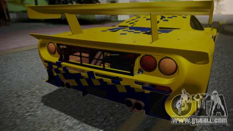 McLaren F1 GTR 1998 Parabolica for GTA San Andreas upper view