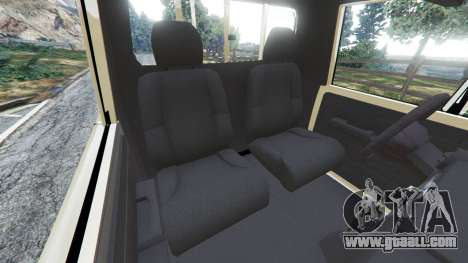 GTA 5 Toyota Land Cruiser LX Pickup 2016 right side view
