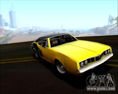 Clover Barracuda for GTA San Andreas