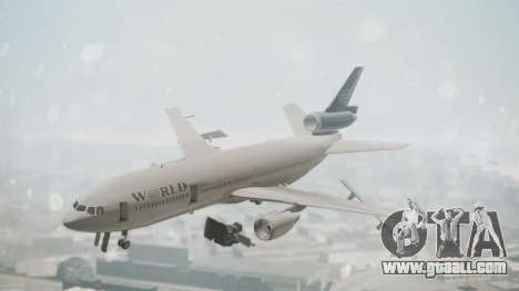 DC-10-30 World Airways (Blue Tail) for GTA San Andreas