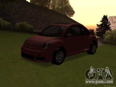 VW New Beetle 2004 Tunable for GTA San Andreas inner view