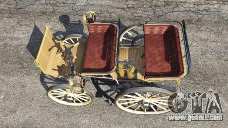 GTA 5 Daimler 1886 [wood] back view