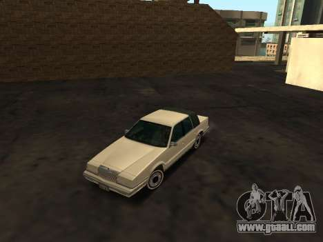 Chrysler New Yorker 1988 for GTA San Andreas side view
