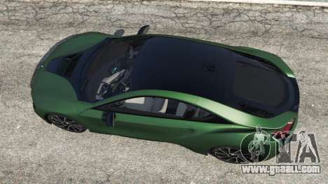 GTA 5 BMW i8 2015 back view