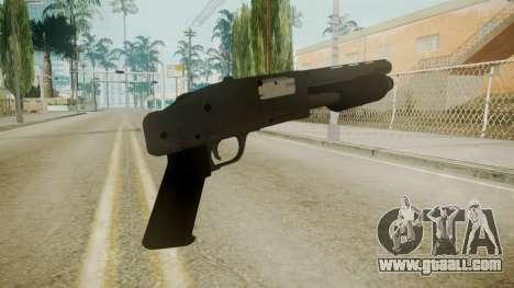 GTA 5 Sawnoff Shotgun for GTA San Andreas third screenshot