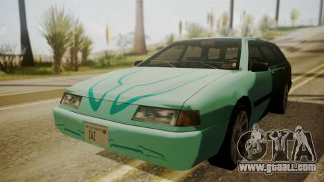 Stratum FnF Skins for GTA San Andreas back view