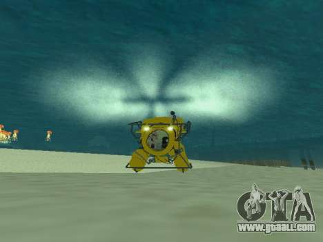 Submersible from GTA V for GTA San Andreas left view
