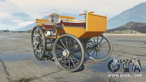 GTA 5 Daimler 1886 [colors] right side view