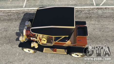 GTA 5 Ford Model T [two colors] back view