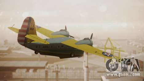 Grumman G-21 Goose N130FB for GTA San Andreas left view