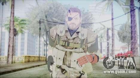 MGSV Phantom Pain Snake Scarf Olive Drab for GTA San Andreas