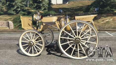 GTA 5 Daimler 1886 [wood] left side view