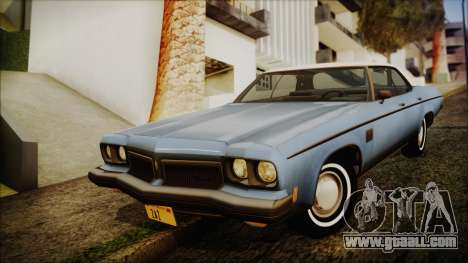 Oldsmobile Delta 88 1973 Final for GTA San Andreas