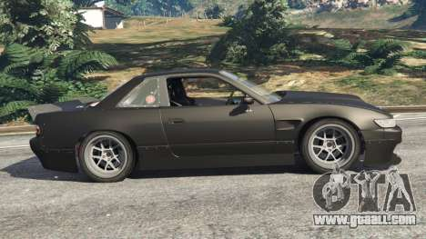 GTA 5 Nissan Silvia S13 v1.2 [without livery] left side view