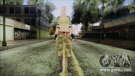 Home Girl Camo for GTA San Andreas second screenshot