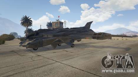 GTA 5 Batwing second screenshot