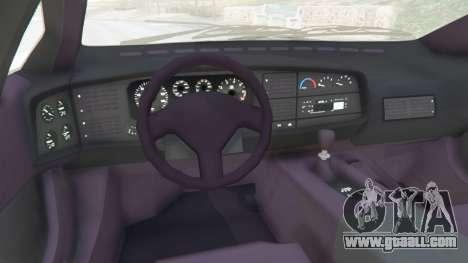 GTA 5 Jaguar XJ220 v1.0 right side view