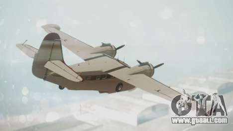 Grumman G-21 Goose VHIRM for GTA San Andreas left view
