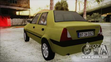 Dacia Solenza for GTA San Andreas back left view