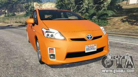 Toyota Prius v1.5 for GTA 5