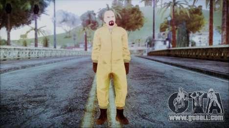 Walter White Breaking Bad Chemsuit for GTA San Andreas second screenshot