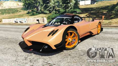 GTA 5 Pagani Zonda R v0.9 rear right side view