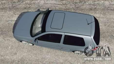 GTA 5 Volkswagen Golf Mk4 R32 back view