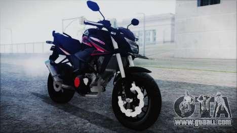 Honda CB150R Black for GTA San Andreas right view