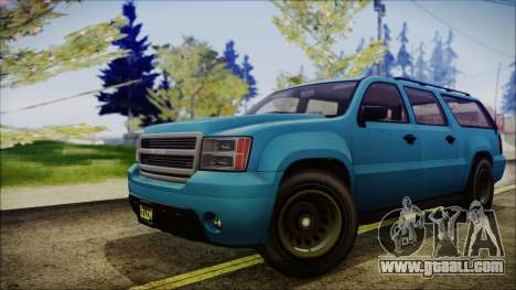 GTA 5 Declasse Granger FIB SUV IVF for GTA San Andreas