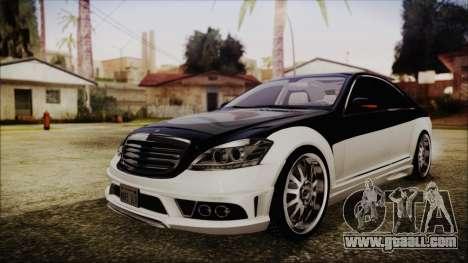 Carlsson Aigner CK65 RS v2 Headlights for GTA San Andreas