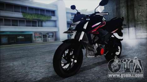 Honda CB150R Black for GTA San Andreas