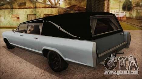 GTA 5 Albany Lurcher Bobble Version for GTA San Andreas left view