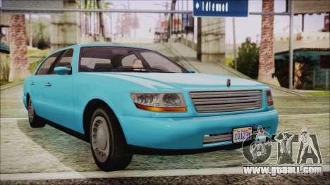 GTA 5 Albany Washington for GTA San Andreas