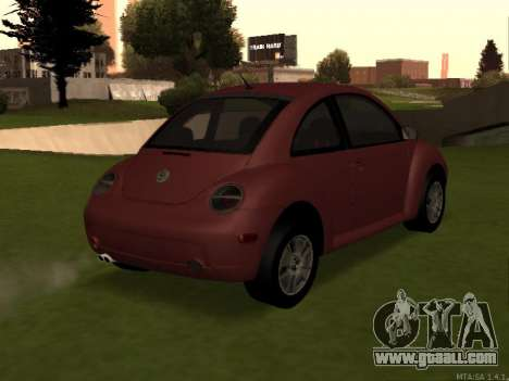 VW New Beetle 2004 Tunable for GTA San Andreas left view