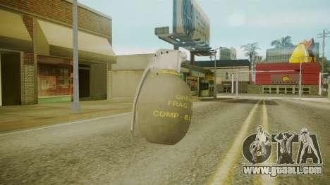 GTA 5 Grenade for GTA San Andreas third screenshot