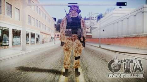 MW2 Russian Airborne Troop Desert Camo v4 for GTA San Andreas third screenshot
