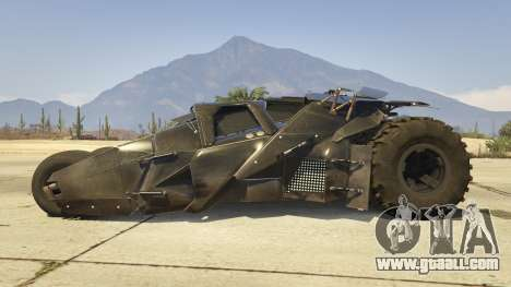 GTA 5 The Tumbler left side view