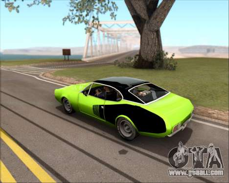 Clover Barracuda for GTA San Andreas left view