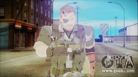MGSV Phantom Pain Snake Normal Square for GTA San Andreas