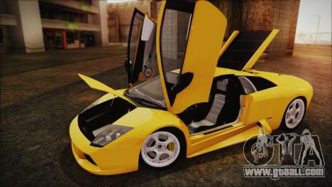 Lamborghini Murcielago 2005 Yuno Gasai IVF for GTA San Andreas back view