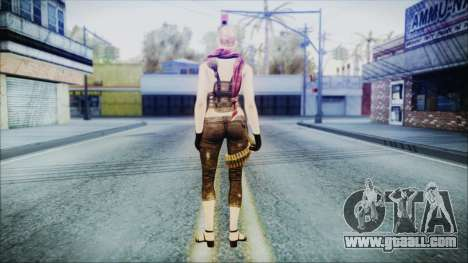 Mila Short Hair from Counter Strike for GTA San Andreas third screenshot