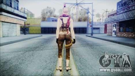Mila Short Hair from Counter Strike for GTA San Andreas third screenshot