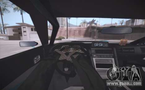 Elegy DRIFT KING GT-1 (Stok wheels) for GTA San Andreas bottom view