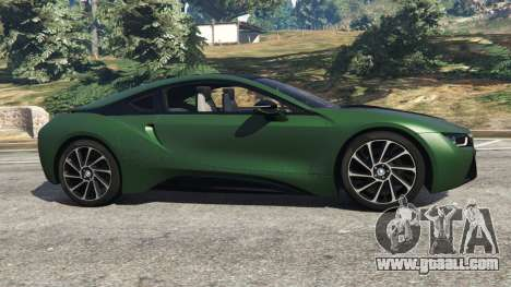 GTA 5 BMW i8 2015 left side view